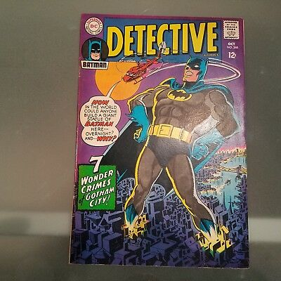 Detective Comics 368 VF+ HUGE DC SILVER AGE COLLECTION No Reserve
