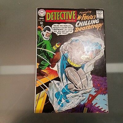 Detective Comics 373 F/VF  HUGE DC SILVER AGE COLLECTION No Reserve