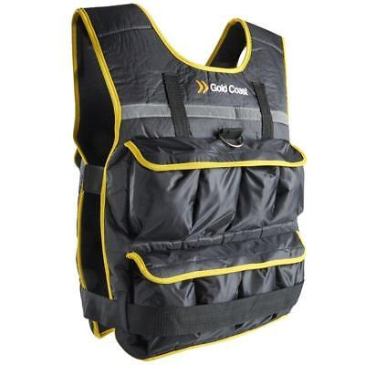 10Kg Weight Vest With Removable Sand & Iron Filled Bags Resistance Training Gear