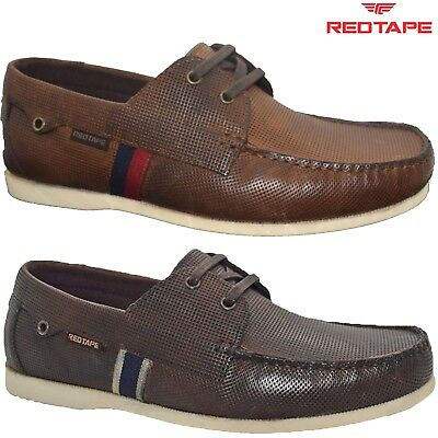 Mens New Casual Leather Lace Up Walking Boat Moccasin Loafers Driving Shoes Size