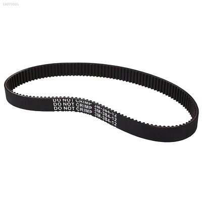 Kids Electric Scooter Drive Belt For E-Scooter Scooters 3M-384-12 Black 37A415C