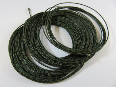 10m 45lb LEAD FREE SINKING CORE LEADER WEED GREEN FOR CARP FISHING FREE NEEDLE
