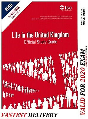 Life in the UK Citizenship Test The Official Study Guide for 2019 exam Book-std