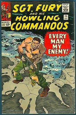 Sgt. Fury & His Howling Commandos #25 in FN. Red Skull