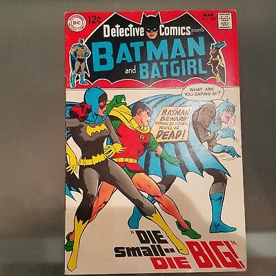 Detective Comics 385 VF-  HUGE DC SILVER AGE COLLECTION No Reserve