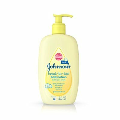 NEW Johnson's Head To Toe Baby Lotion 15 Fl. Oz Pack of 3 FREE SHIPPING