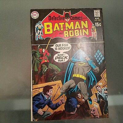 Detective Comics 390 F/VF  HUGE DC SILVER AGE COLLECTION No Reserve