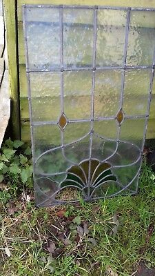 Vintage Stained glass, leaded lights, art nouveau