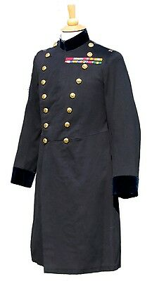 RARE Victorian General's Frock Coat / Uniform with Boer War & WW1 Medal Ribbons