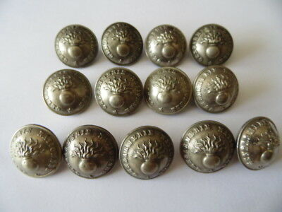 LOT DE 13 BOUTONS GENDARMERIE NATIONALE / NAPOLEON III / 23MM / AM & Cie PARIS