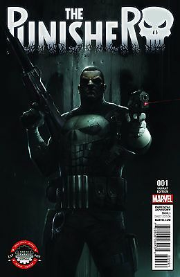 Punisher 1 V10 Rare Franceso Mattina Limited Edition Comix Variant Sold Out