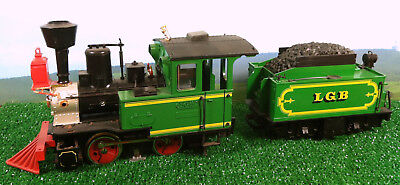 GrandpaLand Railroad: We Need More Power, Scotty  |Lgb Engine Cow