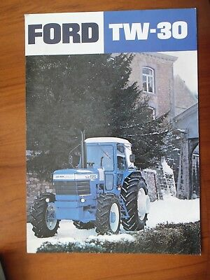 Ford Tw-30 Tractor Sales Leaflet