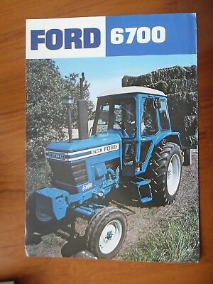Ford 6700 Tractor Sales Leaflet