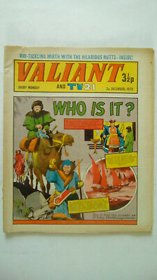Valiant Comic 2nd December 1972