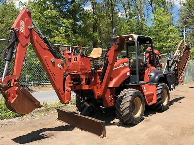 2005 Ditch Witch RT115 with COMBO VIB PLOW, FRONT 6 WAY PLOW, TRENCHER, BACKHOE