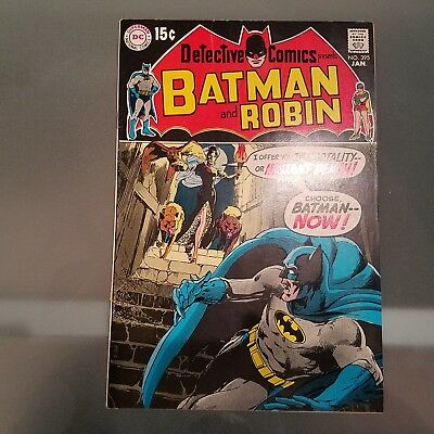 Detective Comics 395 VF HUGE DC SILVER AGE COLLECTION No Reserve