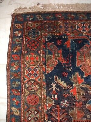 Antique Tribal Nomadic Persian Rug  Persischer Stammesteppich Tapis Tappeto