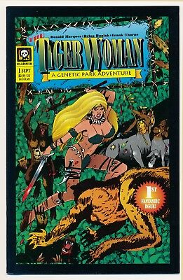Tiger Woman (1994) #1 and Quest of the Tiger Woman (1994) #1 VF/NM Complete