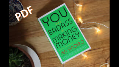 PDF You Are A BadAss At Making Money - Jen Sincero in PDF format