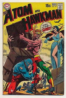 Atom (1962) #45 FN+ Last issue of the series, Kubert cover
