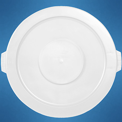 Garbage Can Lid for Brute 10 gal Container Rubbermaid FG260900WHT White _261-19W