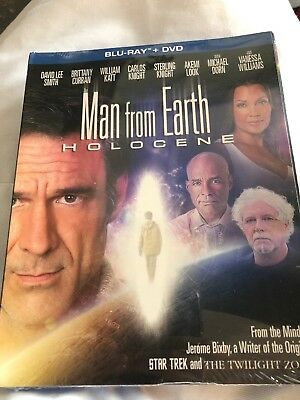 Man From Earth - Holocene (Bluray + DVD) New W/ Slipcover - Free Shipping -