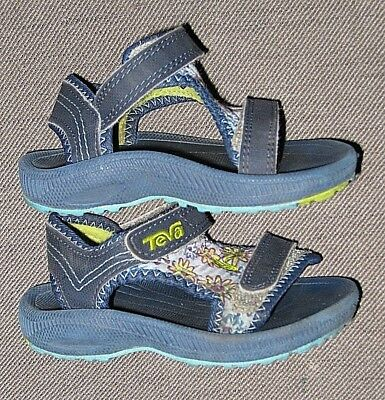 a0e21a0b2b0142 TEVA PSYCLONE 2 water sport Beach sandals  32.00 US4 EU19 NAVY New ...