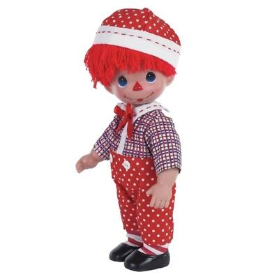 Precious Moments 12 Inch Doll, 'Pretty In Polka Dots', Boy, New In Box/Tag, 4761
