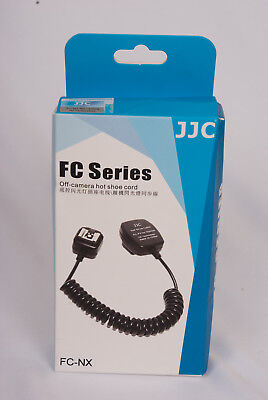 Off Camera Hot shoe Flash Extension Cord for Samsung Flash TTL NX ED-SEF - New