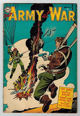 Our Army At War # 26 - Sept. 1954 - Russ Heath Story - Solid Book - Vg 4.0