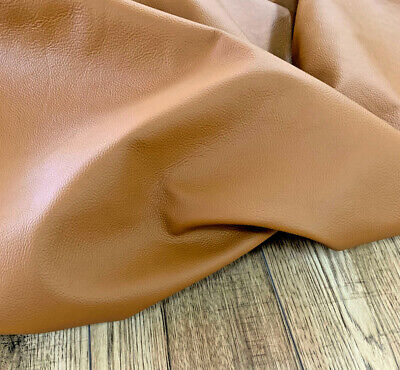 Automotive Grade Leather. Full- Hide, Full- Grain. Tan