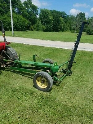 John Deere 37 7Ft Sickle Bar Mower With All New Teeth.  Free Shipping