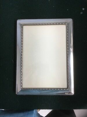 Saks Fifth Avenue Sterling Silver Picture Frame 5x7 8500 Picclick