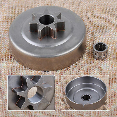 """325"""" 7T Clutch Drum Chain Sprocket + Bearing For Stihl 021 023 025 MS230 MS250"""