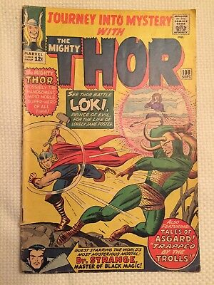 Journey Into Mystery #108 with Thor Marvel 1964
