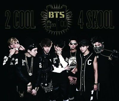 BTS Bangtan Boys 2 COOL 4 SKOOL O!RUL8,2? Japan Edition 2 CD DVD F/S w/Tracking#
