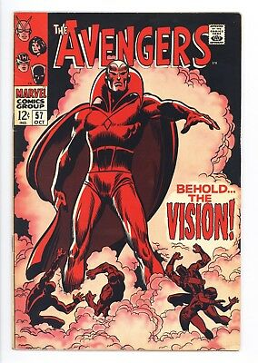 Avengers #57 Vol 1 Super High Grade 1st Appearance of the Vision
