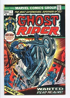 Ghost Rider #1 Vol 1 Super High Grade 1st Appearance of Son of Satan 1973