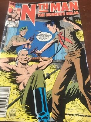CLASSIC MARVEL COMIC - Nth Man - The Ultimate Ninja - Issue # 5