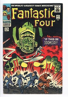 Fantastic Four #49 Vol 1 Near Perfect High Grade 2nd App Silver Surfer, Galactus