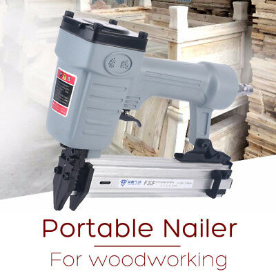 F30F Air Nailer Stapler Nail Gun 10-30mm Straight Pneumatic Woodworking Fram