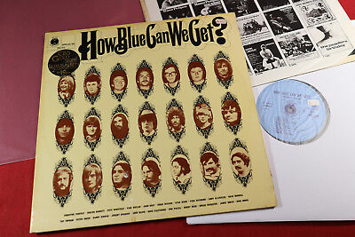 various  HOW BLUE CAN WE GET?  Blue Horizon SPR 45/46 Holland 1970 - 2 LP-Set