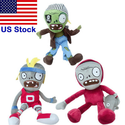 Plants vs Zombies PVZ Dolphin Rider Sport Pirate Zombie Plush Toy for Baby Kids