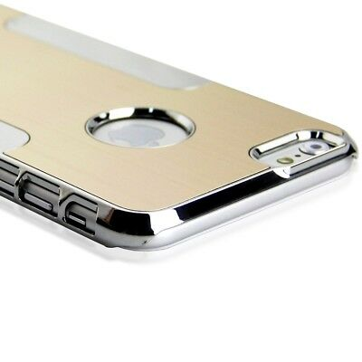 """Aluminum Ultra-thin Metal Case Cover Shockproof For Apple iPhone 6S 4.7"""" Gold"""