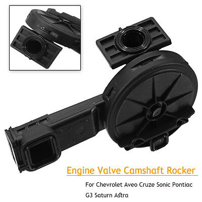 Engine Valve Camshaft Rocker Black For Chevrolet Cruze Sonic Saturn 55558118