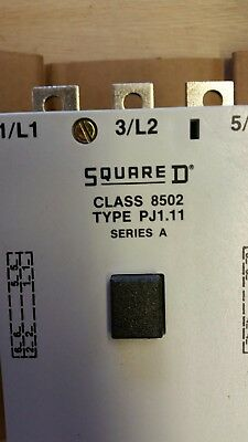 Square D 250A 3 Pole Contactor With Aux Contact 415V Coil *new*
