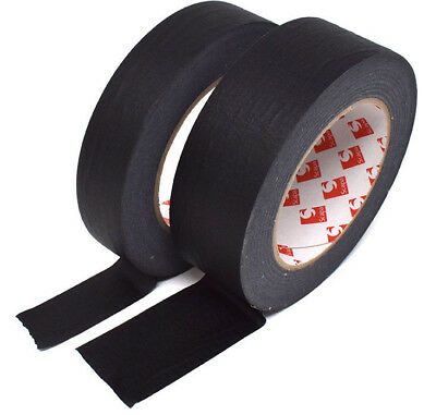 50 METRES BLACK SELF ADHESIVE HIGH QUALITY MASKING TAPE PICTURES FRAMES 62gm²
