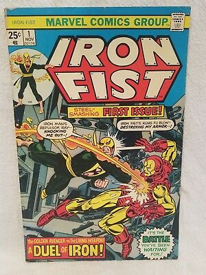 Iron Fist No. 1 - 1975 - First In New Series - Marvel Comics - 32 Pages - Rare!