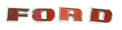 FORD 2000 3000 4000 5000 TRACTOR GRILL FORD 4pc LETTER SET